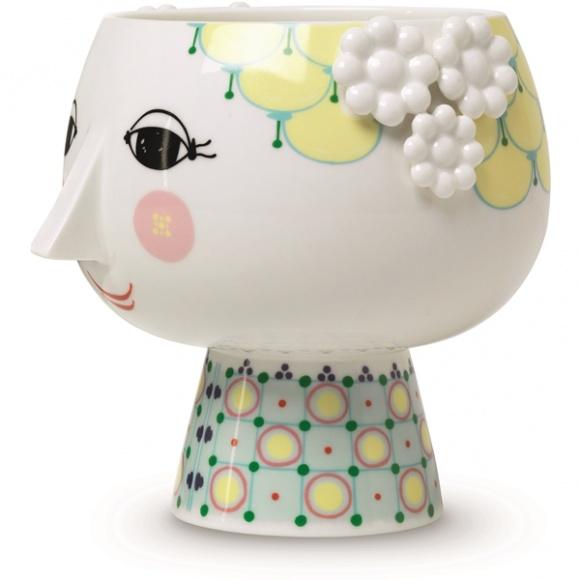 Eva flowerpot - Bjorn Wiinblad
