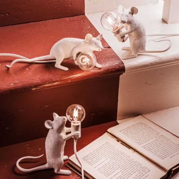 mouse lamp muislamp Seletti